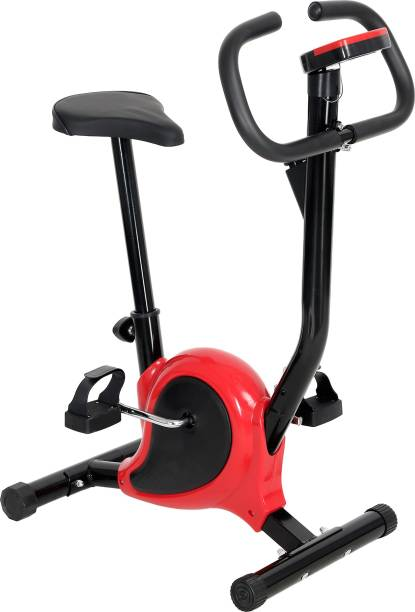supermarche Fitness Steel Exercise Bike for Men and Women and Free Mobile Holder Indoor Cycles Exercise Bike
