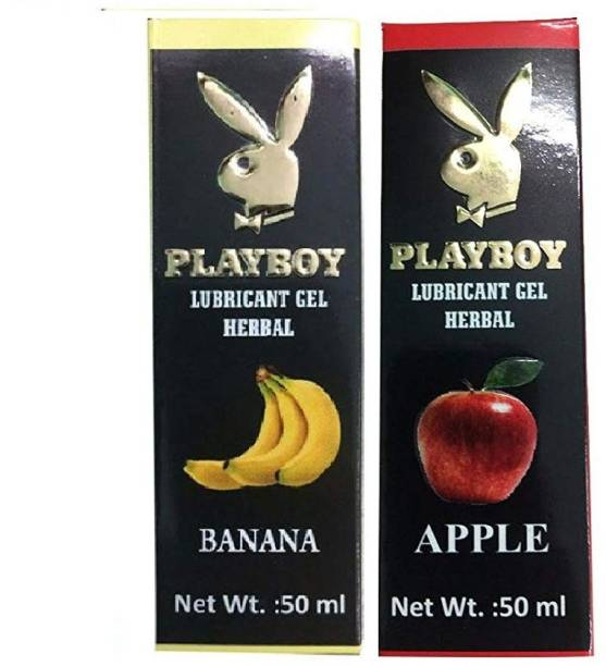 Riya Touch Playboy Herbal Lubricant Banana Flavour & Apple Flavour Lubricant