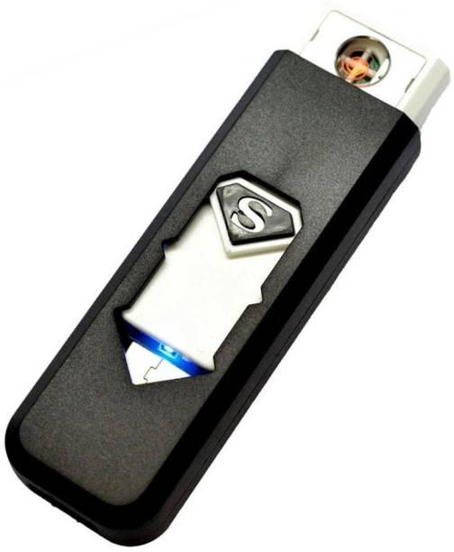 Techobucks Stylish Encendedor Electronic Windproof flameless Lighter Eco USB Lighter Xt18 Cigarette Lighter