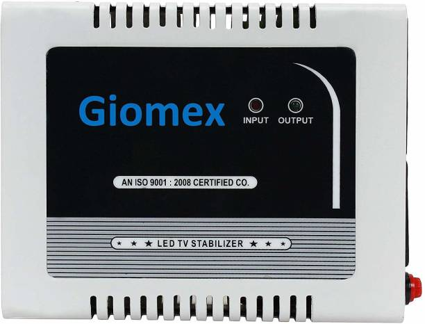 Giomex GMX50ST TV Voltage Stabilizer for (126 cm) Upto 50 inch TV + Set top Box