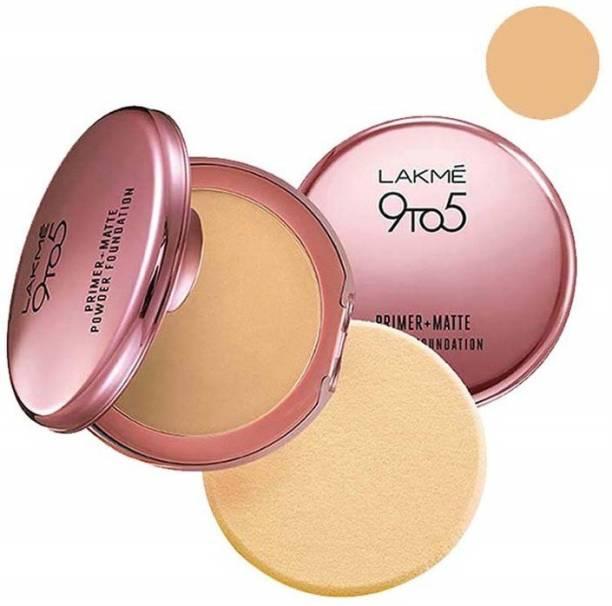 Lakmé 9To5 Primer+Matte Powder Foundation(Ivory Cream) Compact