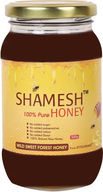 Shamesh Shamesh Raw Wild Forest Honey Pure & Natural