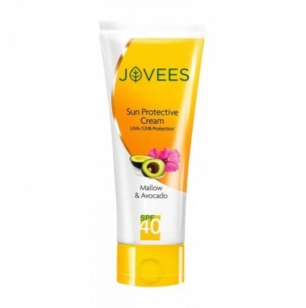 JOVEES Mallow And Avocado Sun Protective Cream SPF-40-60g - SPF 40 PA++