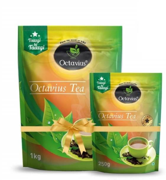 Octavius Premium Assam Kadak CTC (1 Kg + 250 Gm) Chai / Tea Pouch