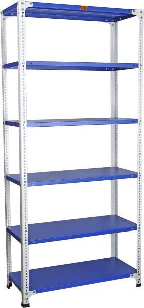 Mil-Nil 78 x 36 x 15 Inch, 24 Gauge (Blue-White) MilNil836154B Luggage Rack