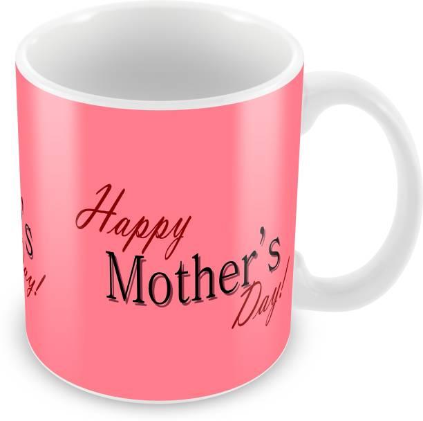 Tuelip Happy Mothers Day Ceramic Printed Ceramic Coffee Mug