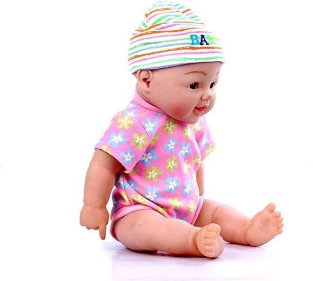 4e30dce76dc26 h.b.fashion Realistic Silicone Baby Doll Vinyl Real Life Baby Boy&Girl  (Multicolor)