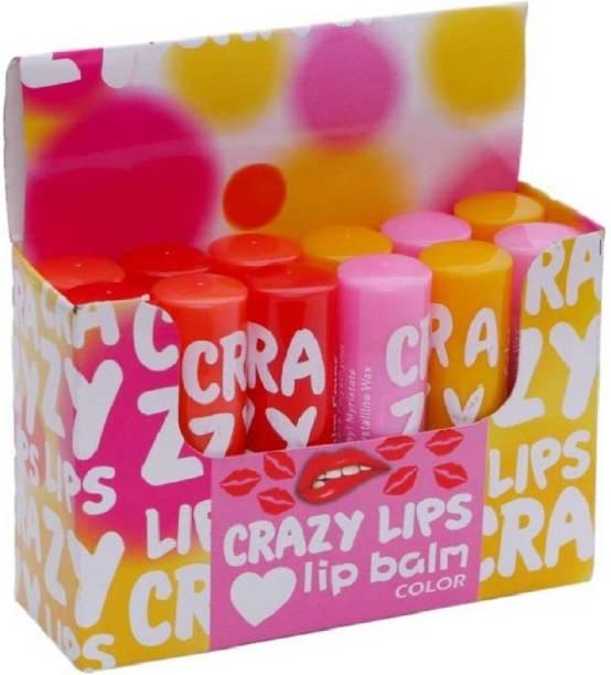 BAGRIA Crazy Lipbam Multi (Pack of: 1, 200 g) MULTIFLOVER