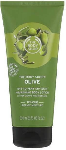 THE BODY SHOP OLIVE DRY TO VERY DRY SKIN BODY LOTION 200 ML (imported)