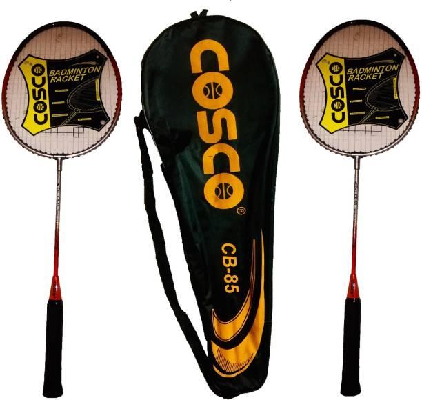 COSCO CB-85 Badminton Rackets Pair (Multi color) Multicolor Strung Badminton Racquet