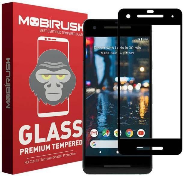 MOBIRUSH Edge To Edge Tempered Glass for Google Pixel 2