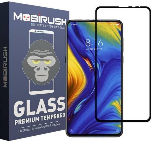 MOBIRUSH Edge To Edge Tempered Glass for Mi Mix 3