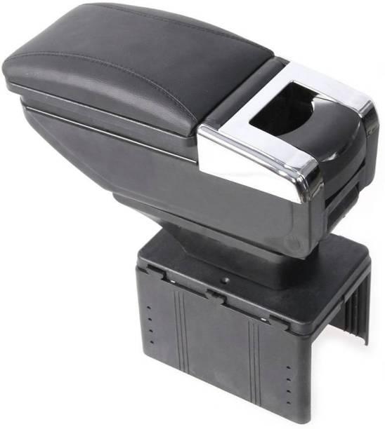 MIZZEO A287987 Car Stylish Armrest Glass Holder+Ashtray Black Car Armrest