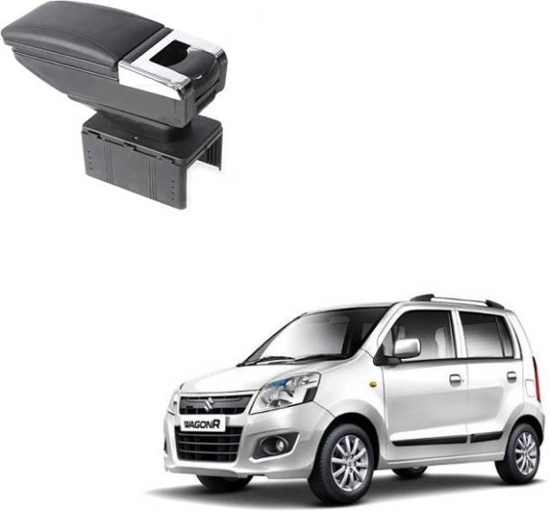 CARIZO A286994 Car Stylish Armrest Glass Holder+Ashtray Black Car Armrest