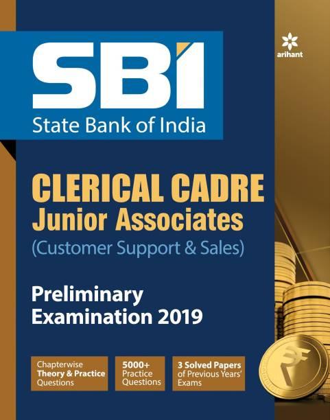 Sbi Clecrical Crade Junior Associates Preliminary Examination 2019