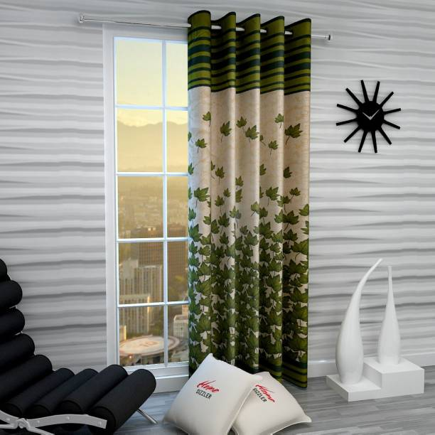 Home Sizzler 214 cm (7 ft) Polyester Door Curtain Single Curtain
