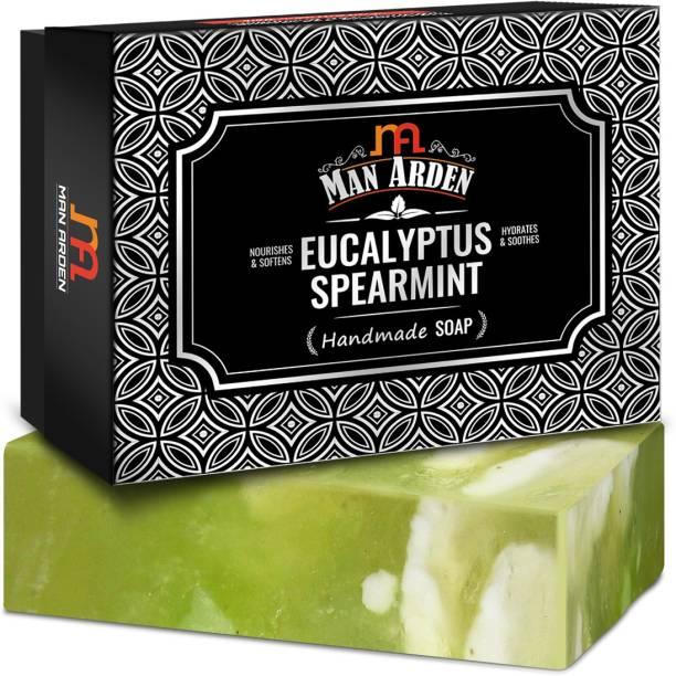 Man Arden Eucalyptus & Spearmint Handmade Luxury Soap (125 g)