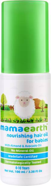 MamaEarth Nourishing Hair Oil for Babies