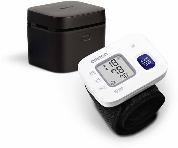OMRON HEM 6161 Fully Automatic Wrist Blood Bp Monitor