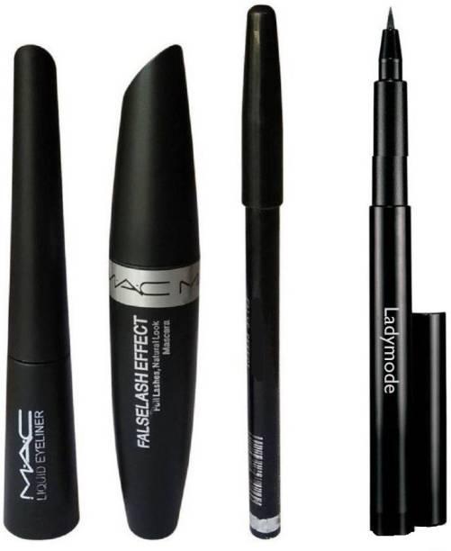 93a34498a91 Ladymode Kajal Pencil & Liquid EyeLiner & Mac Mascara & Mac Eyebrow Pencil