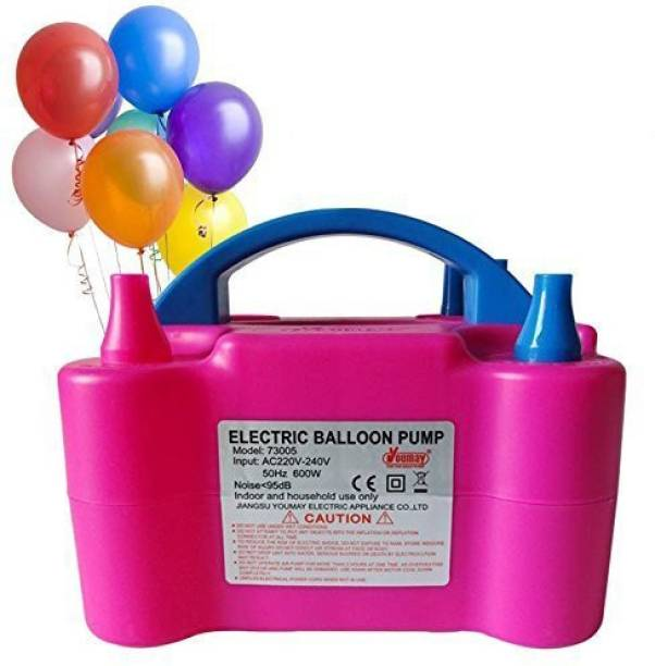 Party Propz Pink ELECTRIC BALLOON PUMP