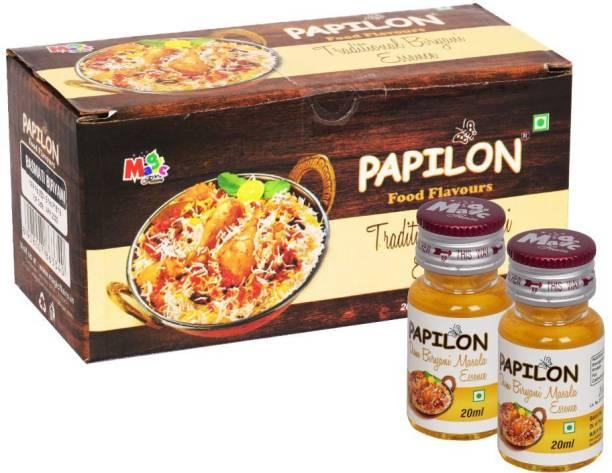 PAPILON Biryani Dum Masala Pack of 10 Bottles Biriyani Masala Liquid Food Essence