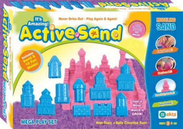 Ekta Active Sand (Mega Play Set)