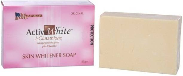 Active White Soap with Grapeseed Extract For Instant Glow (135 g)