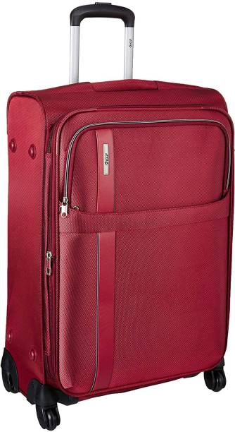 bdd83f2df VIP TRYST 4W EXP STROLLY 55 CRIMSON RED Expandable Check-in Luggage - 23  inch