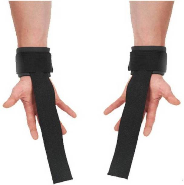 UKEBOO Weight Lifting Gym Gloves With Long Strap Gym & Fitness Gloves