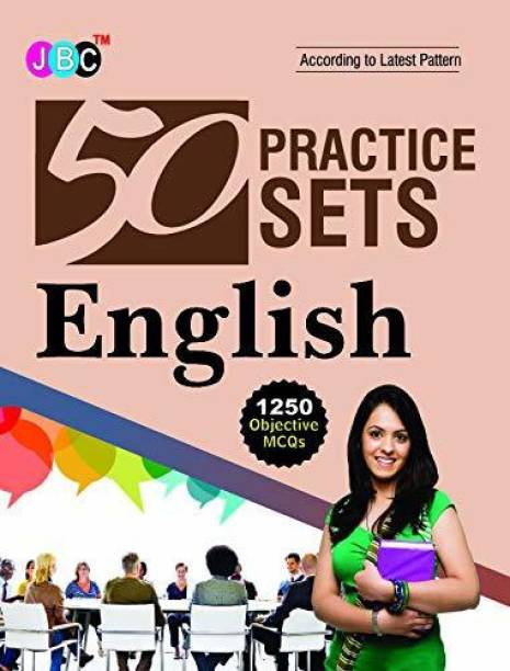 50 Practice Sets English 1250 Objective MCQs