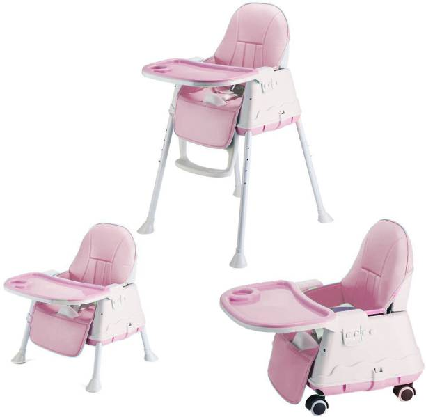 c8c5f829fd4 SYGA High Chair for Baby Kids, Safety Toddler Feeding Booster Seat Dining  Tab