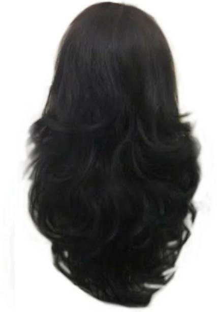 Alizz High quality soft hair half head hair wig Hair Extension