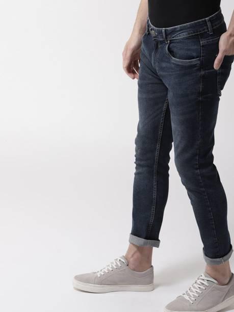 MAST & HARBOUR Skinny Men Dark Blue Jeans
