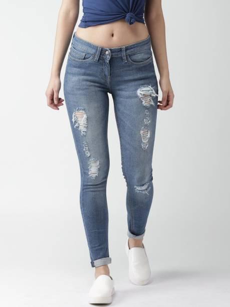 MAST & HARBOUR Skinny Women Blue Jeans