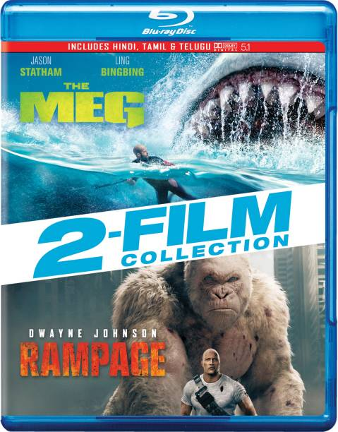 2 Movies Collection: The Meg + Rampage (2-Disc)