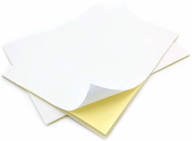 ShikharRetails Sticker Paper 10 Sticker Paper A4 120 gsm Project Paper