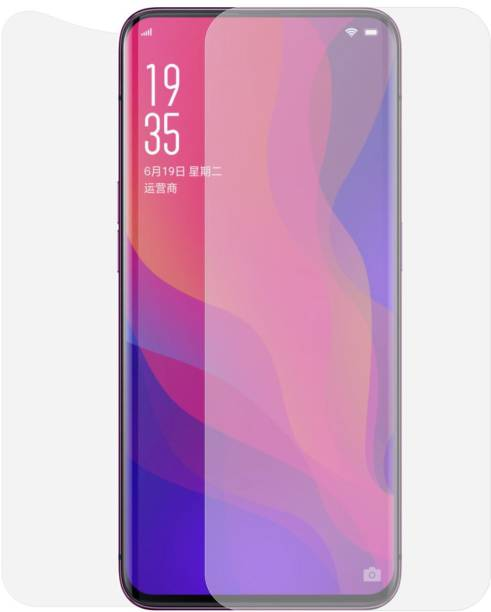 Case Creation Front and Back Screen Guard for Oppo Find X 2018