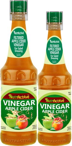 NutrActive Filtered | 100% Natural | Gluten Free Vinegar