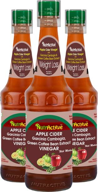 NutrActive NutraActive Apple Cider with Garcinia Cambogia and Green Coffee Beans | Ultra Weight Loss Vinegar