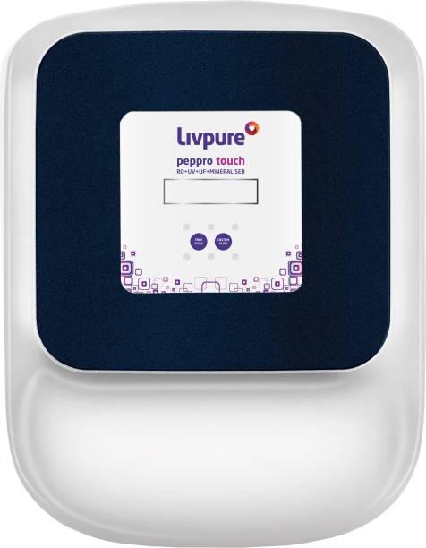 LIVPURE LIV-PEP-PRO-TOUCH 8.5 L RO + UV + UF Water Purifier