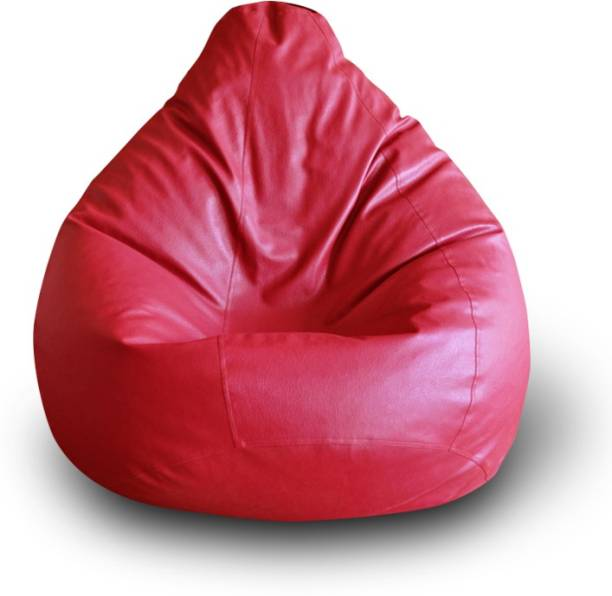 STYLE HOMEZ XXL Tear Drop Bean Bag Cover  (Without Beans)