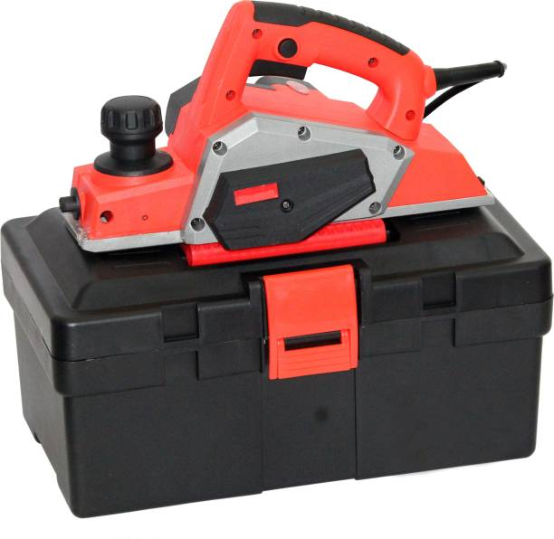 Digital Craft - New Design Planer 710W Power Tools High Quality Portable Electric Wood Planer Model With High Quality ABS Plastic Tool Box Corded Planer