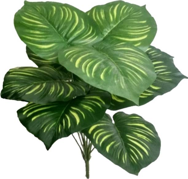 BK Mart Areca Palm Tree with 12 Long Leaves Artificial Plant