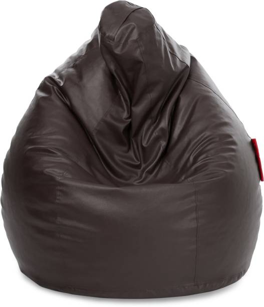 STYLE HOMEZ XXL Classic Teardrop Bean Bag  With Bean Filling