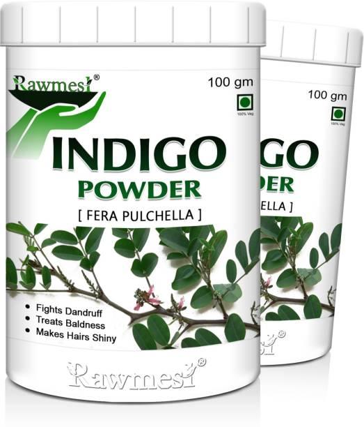 Rawmest Natural Indigo leaf Powder Hair Color 200 gm