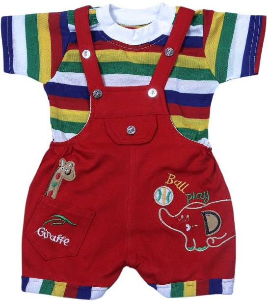 701b055ba547 Baby Jumpsuits - Buy Baby Boys Dungarees & Jumpsuits Online At Best ...