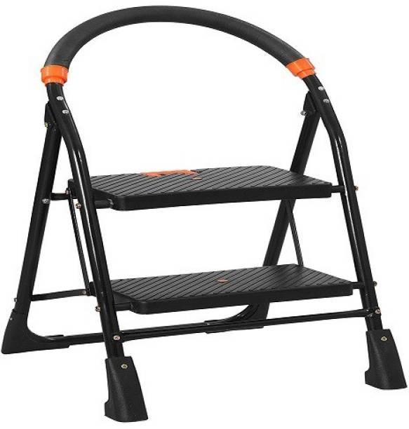 PARASNATH Black Heavy Folding Ladder Steel Ladder