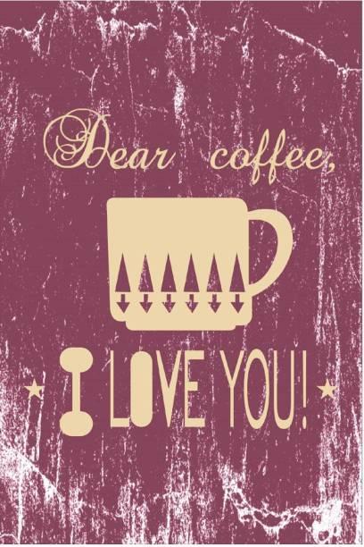 Sehaz Artworks Dear-Coffee Sign