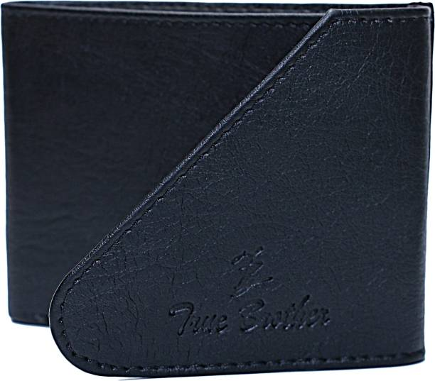true brother Boys Casual Black Artificial Leather Wallet